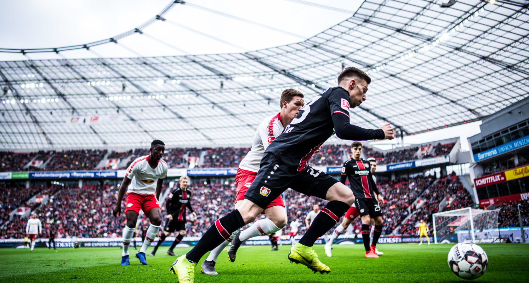 Bayer 04 Leverkusen v RB Leipzig – Bundesliga For DFL